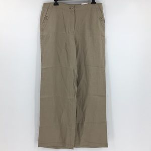 Chico's Women's 1.5 linen Trousers NWT